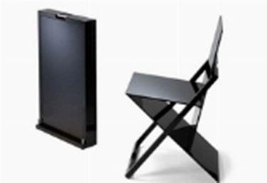 sedie pieghevoli design moderno