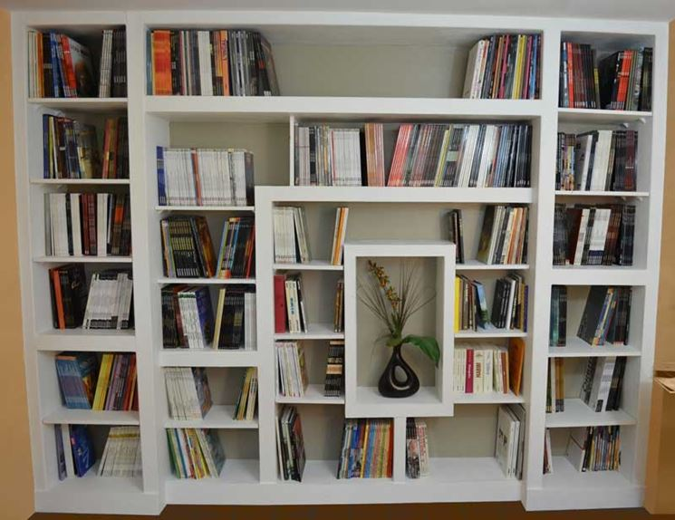 Costruire Libreria A Muro.Come Realizzare Una Libreria In Cartongesso Oggetti Di Casa