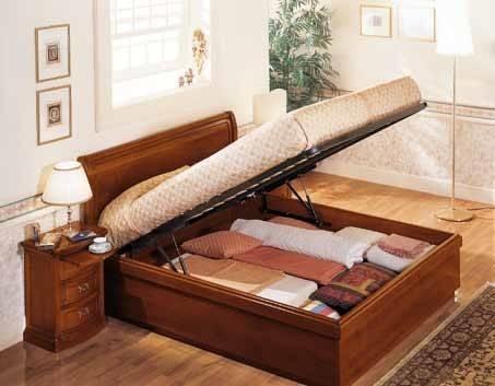 Contenitori sotto letto oggetti di casa for Letto a cassettone