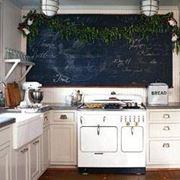 Lavagna in cucina