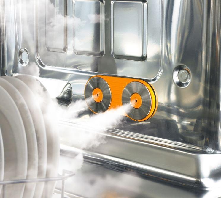 interno lavastoviglie moderna