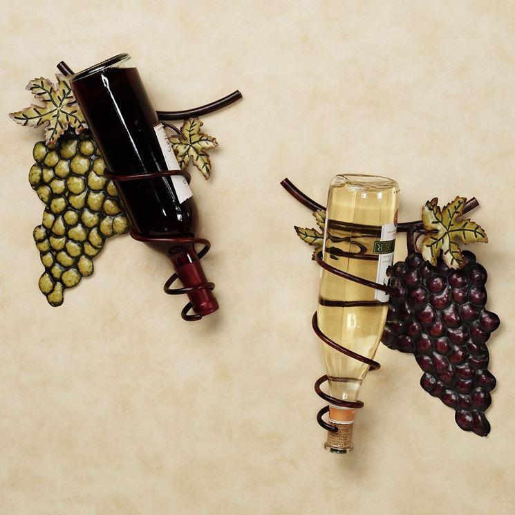 Portabottiglie di design oggetti di casa come - Portabottiglie da parete ikea ...