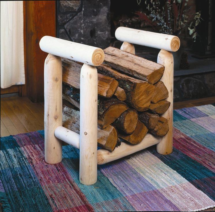 portalegna in legno