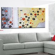 esempio di quadri astratti per il living