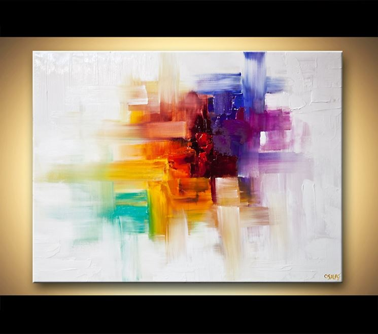 spesso Beautiful Come Dipingere Un Quadro Astratto Contemporary - Home  AJ63