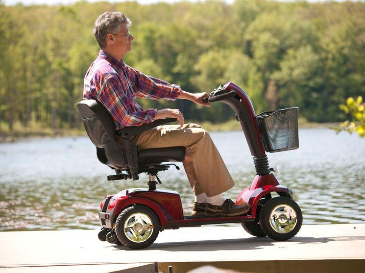 Scooter per anziani modello