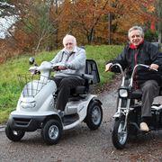 Scooter per disabili a 3 e 4 ruote