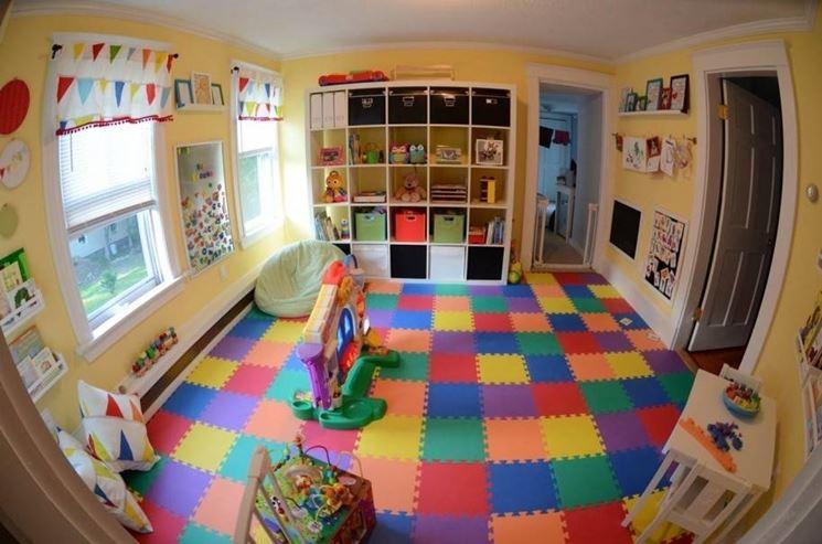 funzione didattica dei tappeti per bambini