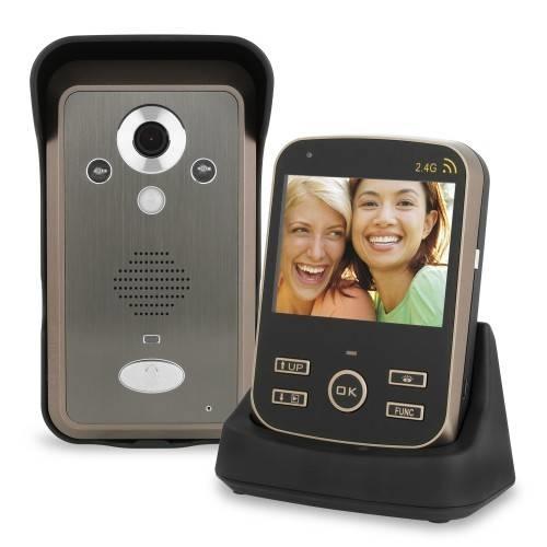 Videocitofono senza fili oggetti di casa - Campanello senza fili da esterno ...