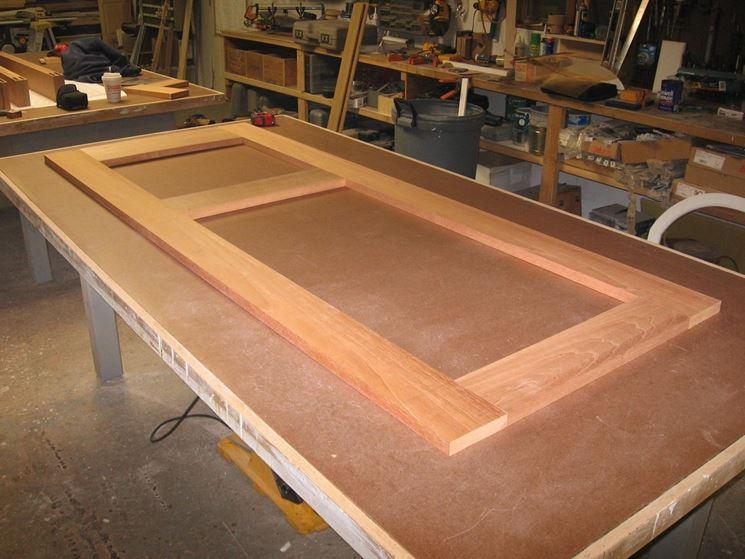 Come costruire una porta porte costruzione porta for Piani di garage con costi da costruire
