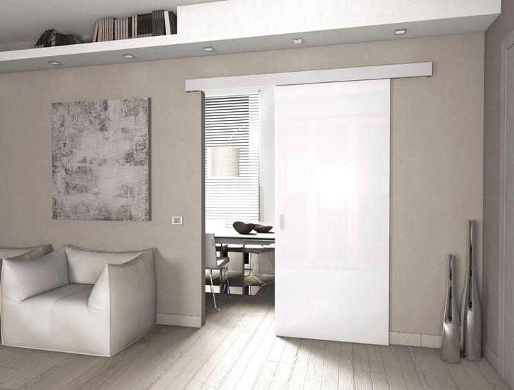 Montare una porta scorrevole esterna al muro - Porte - porta scorrevole
