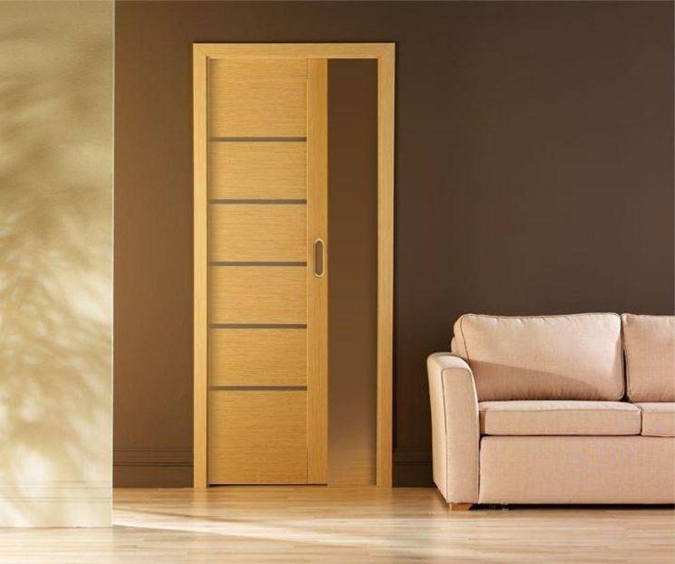 Montare una porta scorrevole interna al muro porte - Porta scorrevole interna ...
