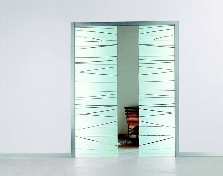 Montare una porta scorrevole interna al muro - Porte