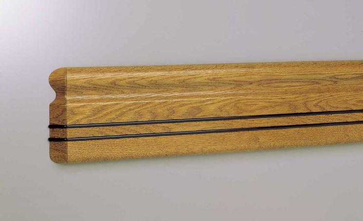 Paraspigoli in legno
