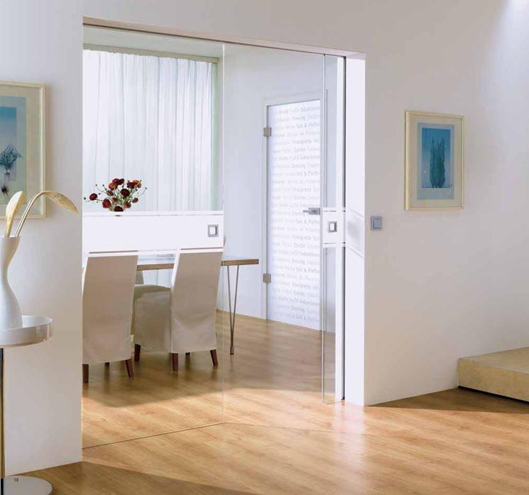 Costo porta vetro scorrevole finest classic a soffitto u scorrevole esterno muro with costo - Costo scrigno porta scorrevole ...