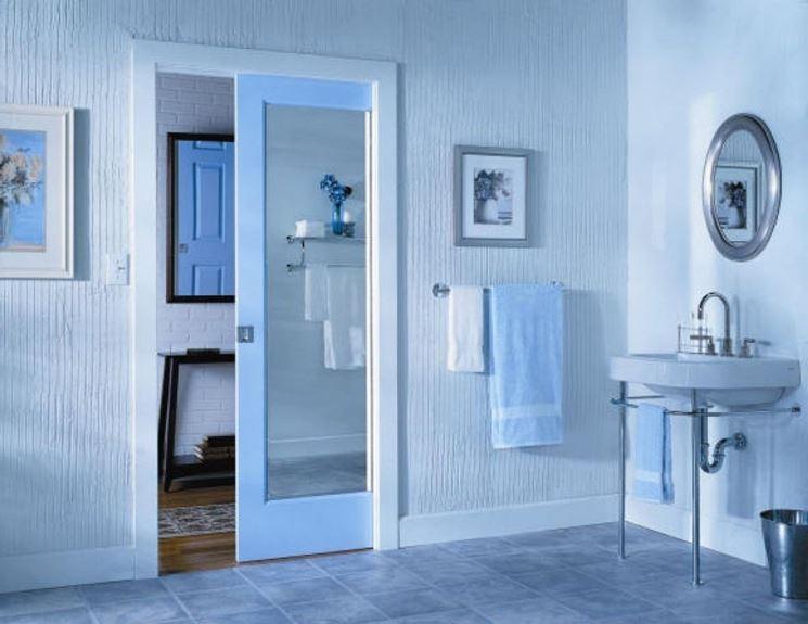 Porte che non si vedono porte porte a scomparsa - Porte scorrevoli per bagno ...