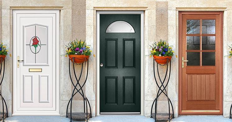 Molto Porte d'ingresso per la casa - Porte - Tipi di porte per ingresso QJ13
