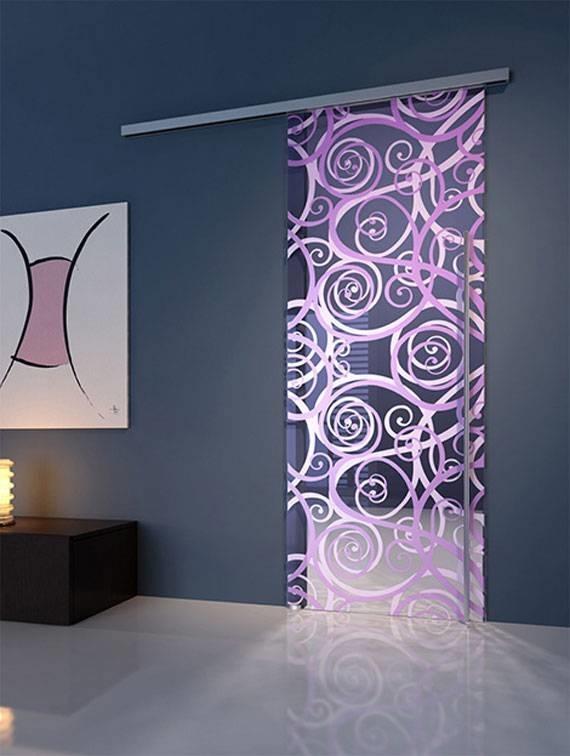 Porte in vetro porte - Pitturare una parete esterna ...