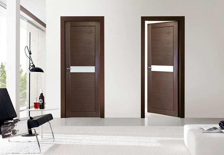 Esempio di porte moderne