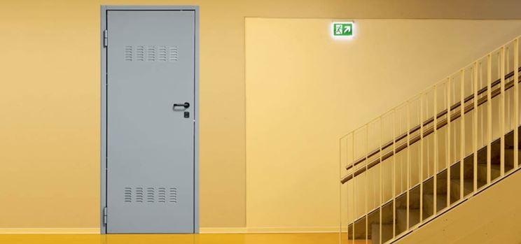 Porta cantina blindata
