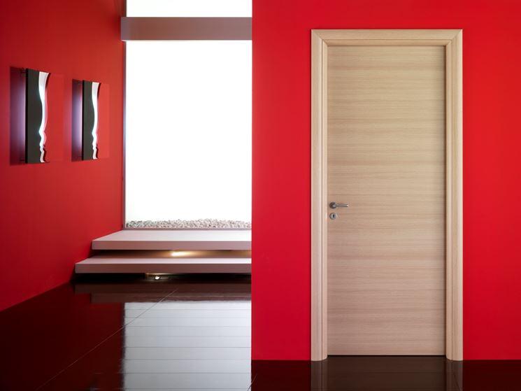 Porte in rovere sbiancato confortevole soggiorno nella casa - Mobili rovere sbiancato ...