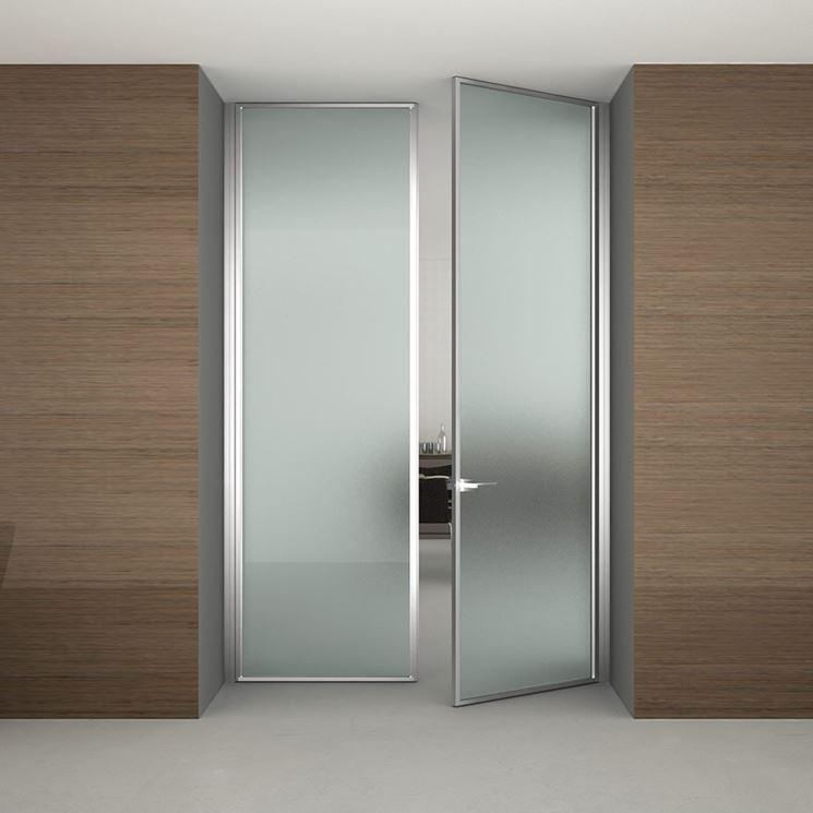 Porte vetro - Porte - tipologie di porte a vetro