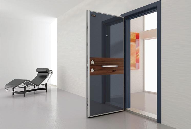 porta blindata moderna