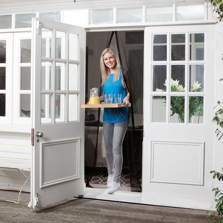 Zanzariere per porte finestre porte modelli di - Zanzariere scorrevoli per porte finestra ...