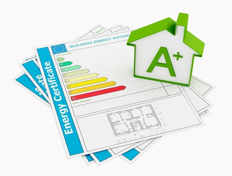 certificato prestazione energetica