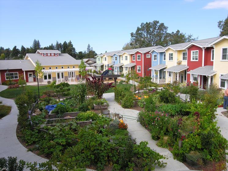esempio di case in cohousing