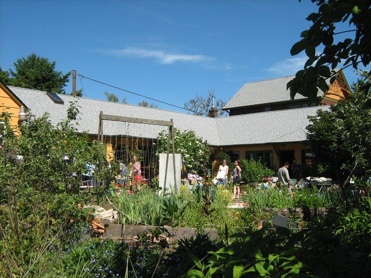giardino in cohousing