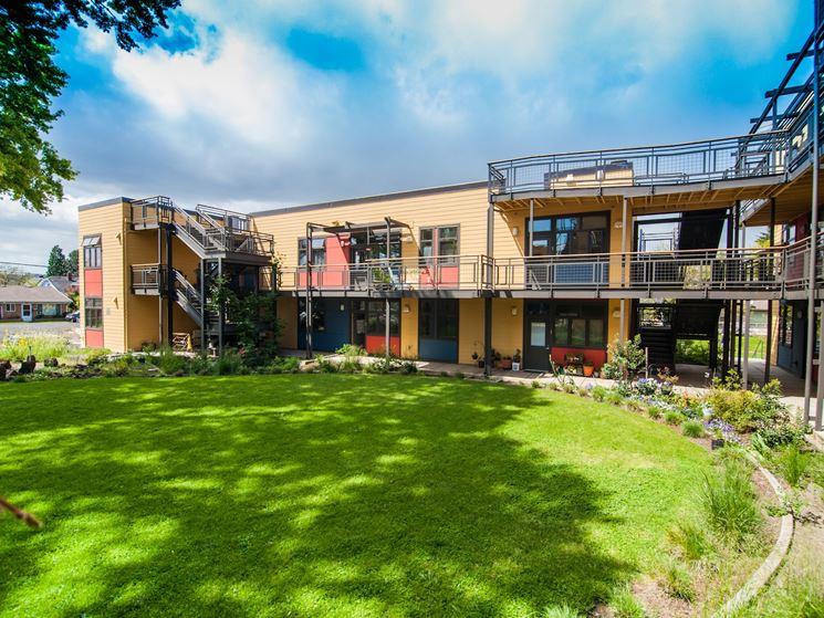 struttura per il cohousing