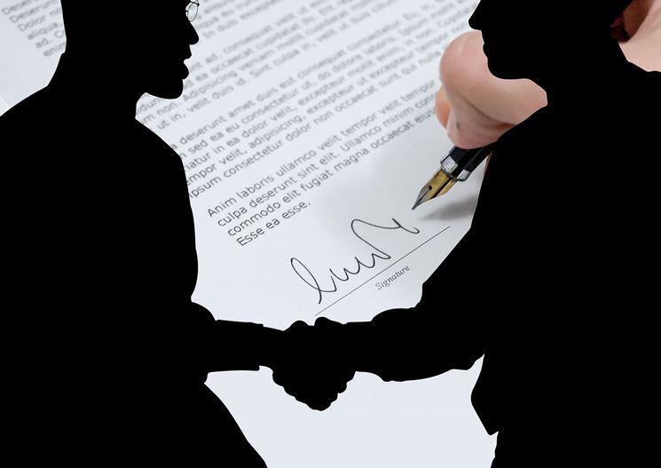 Firma contratto acquisto