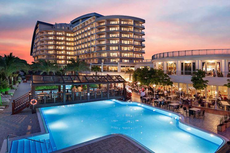 esempio di albergo