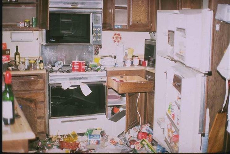 danni all'appartamento