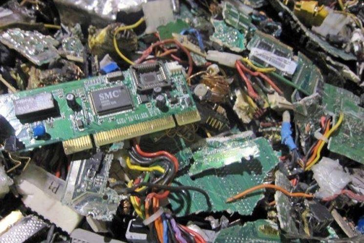 Elettrodomestici rifiuti elettronici