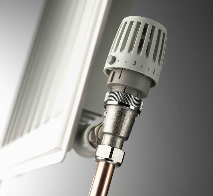 esempio di valvola termostatica