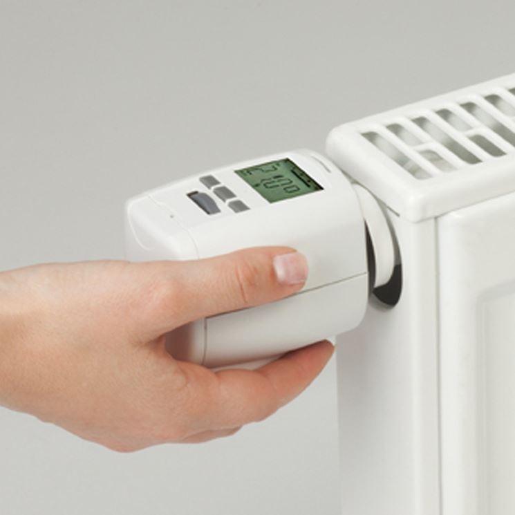 valvola termostatica eletronica