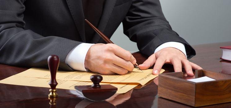 Stipula di un atto notarile