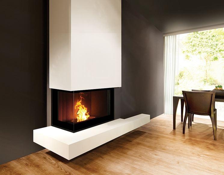 Camino di design riscaldamento idee e consigli per un - Stufe a legna seconda mano ...