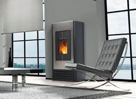 Impianto di riscaldamento a pellet