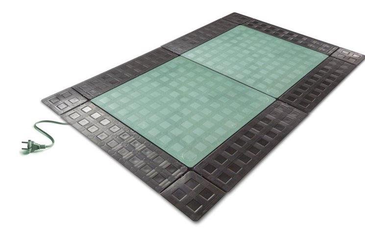 Reti e tappetini riscaldanti per esterno riscaldamento - Tappeto riscaldamento pavimento ...