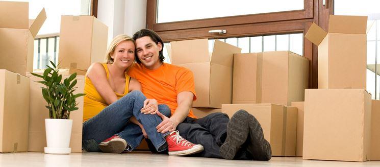 nuova casa per giovane coppia