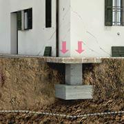 rinforzare fondazioni per cedimento terreno