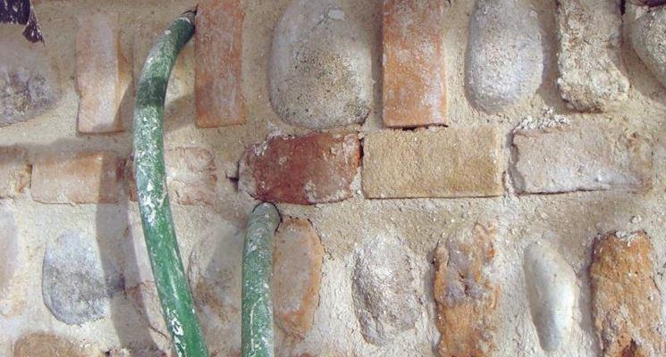 consolidare muratura con malta