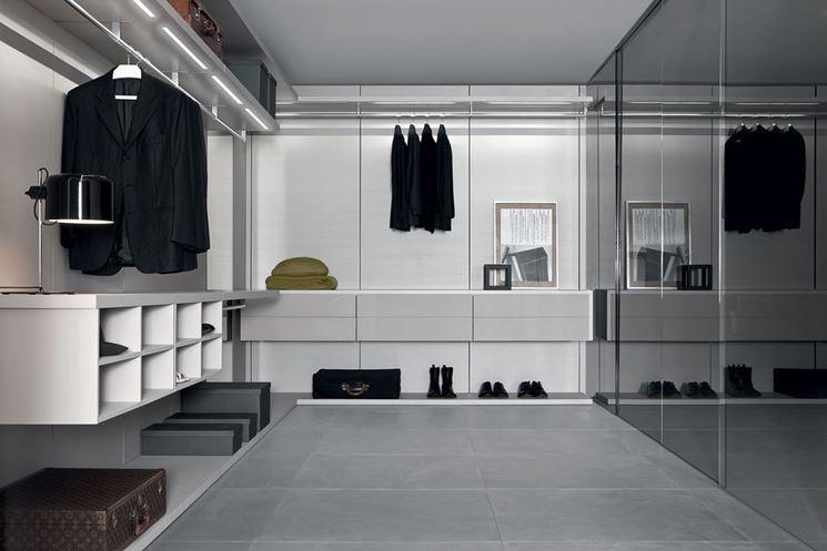 Progettazione di una cabina armadio ristrutturazione - Progetto cabina armadio ...