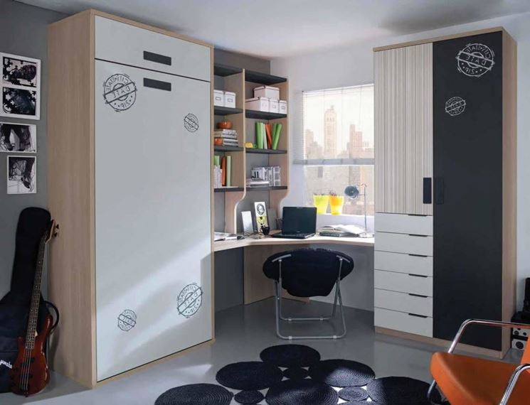 Ricavare una camera per gli ospiti dal soggiorno for Letto per gli ospiti