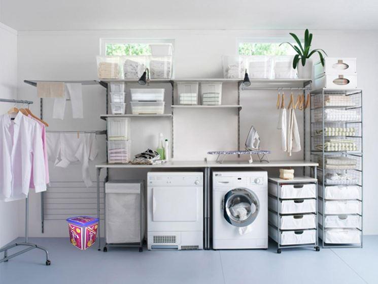 ripostiglio lavanderia