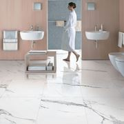 pavimento in finto marmo
