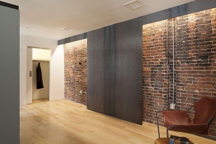 Materiali inconsueti per rivestimenti rivestimenti - Mattoni per interni casa ...